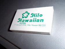 Box of matches Hilo Hawaiian Hotel Hilo Hawaii
