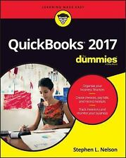 QuickBooks 2017 for Dummies by Stephen L. Nelson (2016, Paperback)