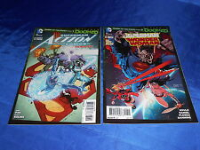 Superman Doomed (2014) Enemy of the State #1-2 1st Prints Complete Storyline NM