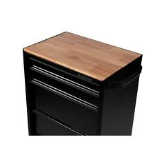 27 in. Hardwood Tool Workbench Top for Rolling Cabinet Plywood Top Cutting Board