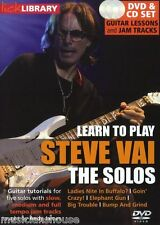 LICK LIBRARY Learn to Play The SOLOS STEVE VAI Big Trouble GUITAR Tutor DVD & CD
