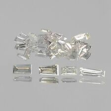 0.08 Cts 10 Pcs UNTREATED SPARKLING WHITE COLOR NATURAL LOOSE DIAMONDS
