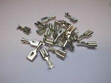 150Pcs Female/&Male Spade Connectors Wire Crimp Terminals Set 2.8mm 4.8mm 6.3mmCN