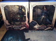 Assassins Creed Unity Arno & Elise Statues Figurines Figures Diorama Boxed