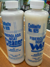 Collinite Fiberglass Boat Cleaner & Wax Set  920/925