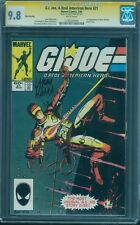 G.I.Joe 21 CGC SS 9.8 Larry Hama Signed 1st Storm Shadow White 3rd Print Rare