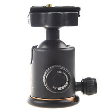 S3 Beike BK-03 Camera Tripod Ball Head Ballhead with Quick Release Plate 1/4""