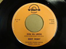 45T SINGLE VIBRA RECORDS / EDDY ROMY - ZON EN LIEFDE