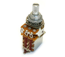 "Alpha 500K Push Pull Guitar Audio Potentiometer 3/8"" DPDT Switch EP-0286-000"