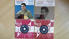 ELVIS PRESLEY - No. 1's Surrender & Crying In The Chapel (CD singles 2005)