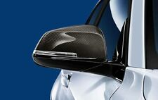 Bmw m performance origine paire carbon wing mirror caps série 1/2/3/4