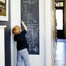 Large Blackboard 45 x 200cm Removable Vinyl Wall Sticker Chalkboard Decal Decor