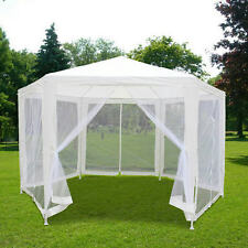 Quictent® 6.6x 6.6 x 6.6 Hexagon Canopy Party tent Gazebo Screen House Mesh Wall