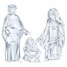 Swarovski Nativity Joseph, Mary Baby Jesus 5223601,5223602, 5223604 5270540 set