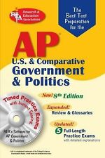 AP Government & Politics wCD-ROM (REA) - The Best Test Prep: 8th Editi-ExLibrary