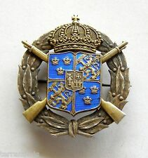 x383 SWEDEN MILITARY RIFLE BADGE
