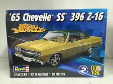 +++ Revell US Monogram 1/25 '65 Chevelle™ SS™ 396 Z-16 Plastic Model Kit 85-4055