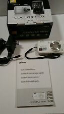 Nikon COOLPIX S800c 16 MP Digital Camera with 10x Optical Zoom (White)