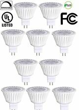 10 Pack Bioluz LED MR16 50W Halogen Equivalent Dimmable 7w Spot Light Lamp GU10