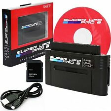 New SNES Super UFO Pro 8 Game Saves & Backup Cartridge Adapter
