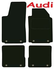 Tailored Deluxe Quality Car Mats Audi A2 2000-2005 ** Black ** Hatchback FSI