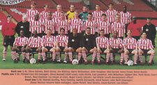 Lincoln City Equipo De Fútbol Foto > 1996-97 temporada