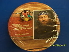 """Duck Dynasty Commander TV Camo Hunting Birthday Party 9"""" Paper Dinner Plates"""