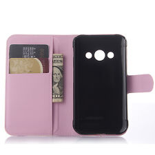 Flip Magnetic PU Leather Stand Card Cover Case For Samsung Galaxy Xcover 3 G388F