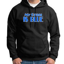 MY GRASS IS BLUE bluegrass Kentucky Music T-shirt Banjo Folk Hoodie Sweatshirt