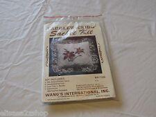 Candlewicking sachet kit NOS new old stock WKIT086 Wang's international Lily
