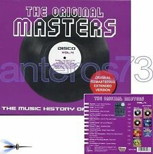 THE ORIGINAL MASTERS 4 CD DISCO EXTENDED VERSIONS ITALO
