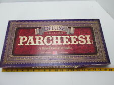 Vintage Parcheesi Deluxe Edition 1989 Age 7-Adult Royal Game of India Milton T