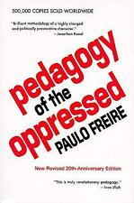 Pedagogy of the Oppressed Freire, Paulo Paperback