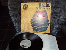R.E.M. EPONYMOUS LP OIS IRS HOLLAND REM THE ONE I LOVE IT'S THE END OF THE WORLD