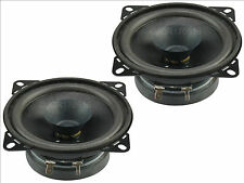 "4"" Twin Cone 40W watt Car Van Truck Audio Speakers Pair 100mm"