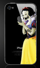 Zombie Snow White Holding Apple iPhone 5/5S Vinyl Decal Sticker