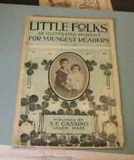 May 1904 Little Folks Illustrated Monthly Magazine A Little Colonial Soldier