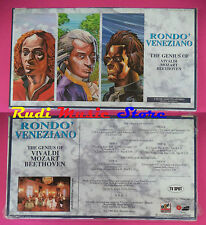 BOX 3 MC RONDO'VENEZIANO The genius of vivaldi mozart  SIGILLATO no cd lp vhs