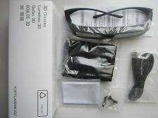 2 X Genuine Sharp 3D Glasses Eyewear AN-3DG20-B for AQUOS LX/LV/X LCD/LED TV