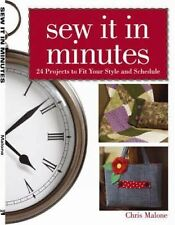 Chris Malone - Sew It In Minutes (2010) - Used - Trade Paper (Paperback)