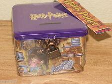 RARE HOGWARTS HARRY POTTER COIN BANK MINT SEALED BAG