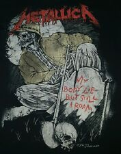 Metallica vintage t-shirt xl for men original