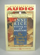NEW Claiming of Sleeping Beauty by Anne Rice (A N Roquelaure) Cassettes Audio