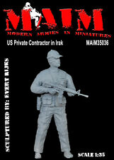 US Private Contractor in Iraq / 1/35 Scale resin military model kit PMC
