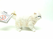S18) NEUF PAPO (54042) Chat persan Animaux domestiques Figurine animalière