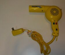 Vintage Conair Yellow Bird Professional 1600W Hair Dryer Blow Dryer TESTED WORKS