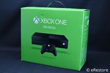 Microsoft Xbox One 500 GB Black Console w/controller - Works great with box