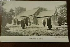 SOMERSBY CHURCH POSTCARD