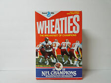 Washington Redskins 1988 Super Bowl XXII Wheaties Box (Full, Unopened)
