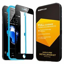 Apple iPhone 7 Screen Protector Tempered Glass Full Coverage Tough Anti Scratch